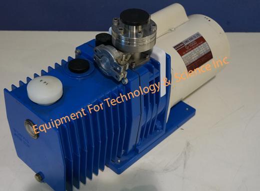 Ulvac G100D rotary vacuum pump 4.2CFM