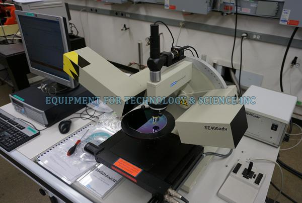Sentech SE400adv Ellipsometer with film thickness mapping