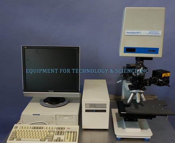 nanometrics Nanospec AFT2100 Film Thickness Measurement System