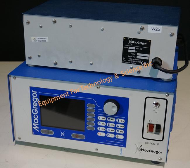 MacGregor DC1001P Linear DC resistance welding power supply