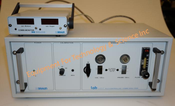Mbraun Combi-Analyzer Oxygen monitor