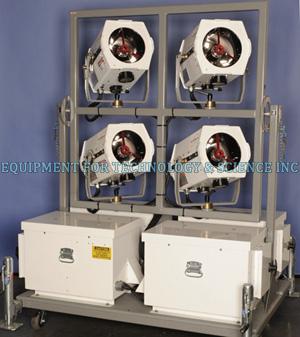 Phoebus Manufacturing PSL-9-AM-1K Xenon Solar Simulator