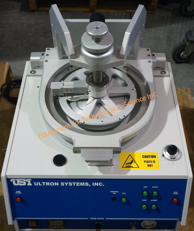 Ultron UH130 wafer expander (2016) with pneumatic ram and motorized circular cutter for up to 150mm wafers